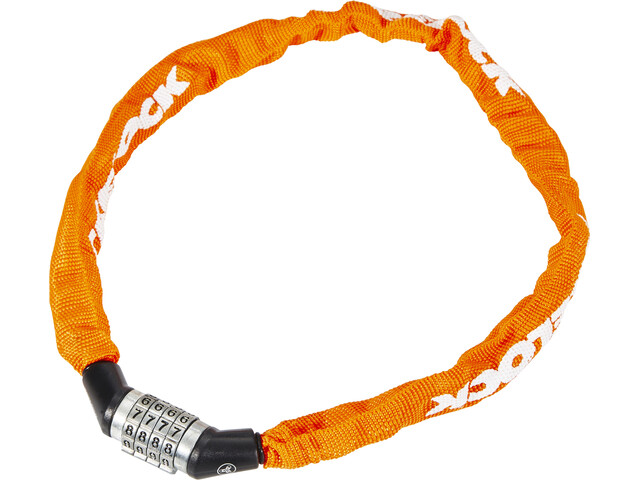 Trelock BC 115 Code Zapięcie rowerowe 60 cm pomarańczowy